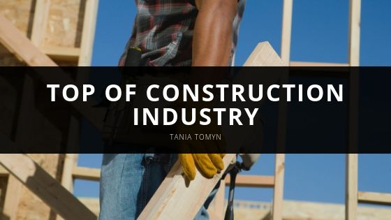 Tania Tomyn Top of Construction Industry