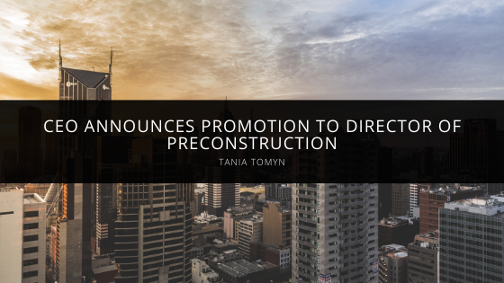 Retrolock (RLC) Corporation CEO Tania Tomyn Announces Josh Russell's Promotion to Director of Preconstruction